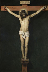 Christ Crucified - by Diego Velazquez - Diamond Painting Kit