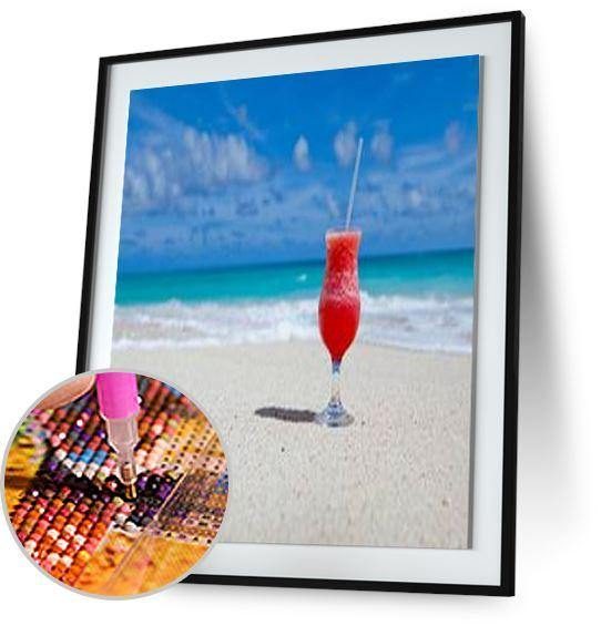Cocktail on the beach 5DArtist