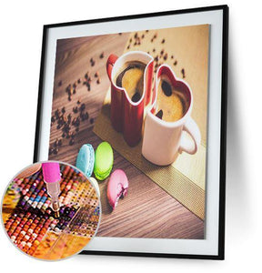 Coffee and Macaroons 5DArtist