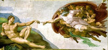 Creation of Adam - by Michelangelo - Diamond Painting Kit