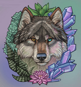 Crystal Wolf - by Kristina Zurlo - Special Offer - Diamond Painting Kit