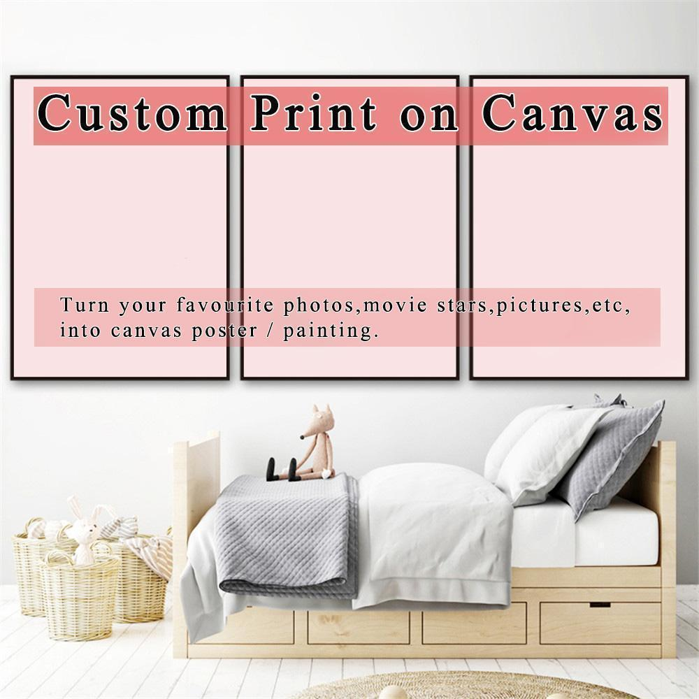 Custom Order - Make Your Own Picture 3 Panels - Diamond Painting Kit