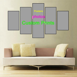 Custom Order - Make Your Own Picture 5 Panels - Diamond Painting Kit