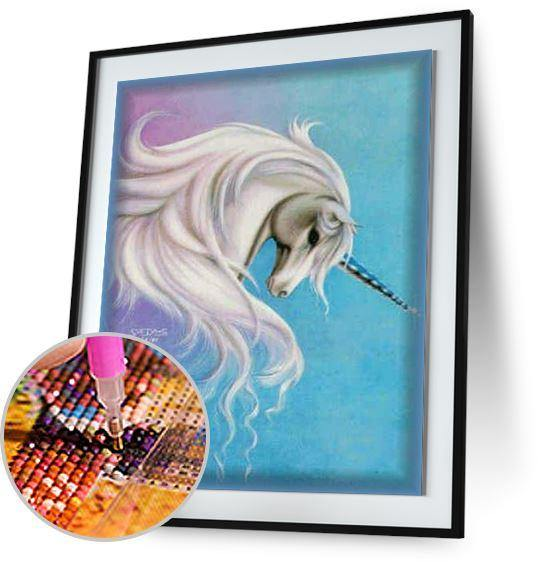 Cute Unicorn 5DArtist