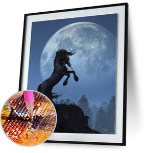 Dark Horse and Full Moon - by Daniel Eskridge Daniel Eskridge