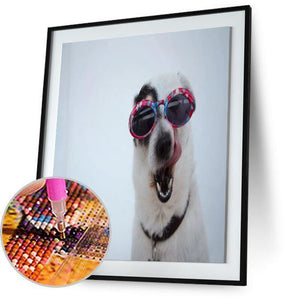 Dog in Shades 5DArtist