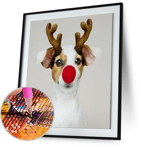 Dog Reindeer 5DArtist