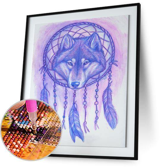 Dreamcatcher Wolf by Kristina Zurlo - New Offer Freeplus Kristina Zurlo