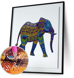 Elephant Aztec 5DArtist