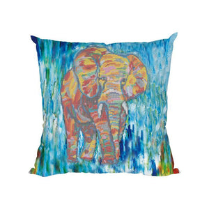 Elephant - Diamond Painting Cushion Cover - Diamond Painting Kit