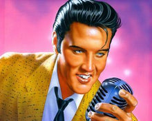 Elvis Presley: the King - Paint By Numbers - Diamond Painting Kit