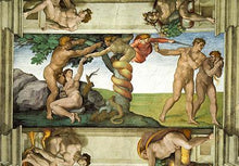 Expulsion from Paradise - by Michelangelo - Diamond Painting Kit