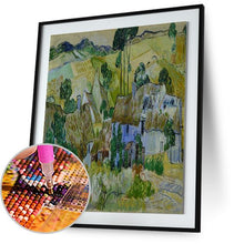 Farms near Auvers - by Vincent van Gogh 5DArtist