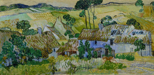 Farms near Auvers - by Vincent van Gogh - Diamond Painting Kit