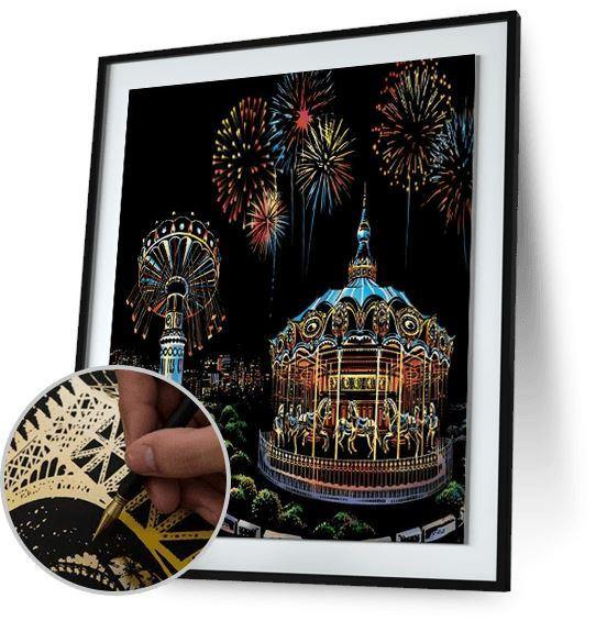 Ferris Wheel Fun - Scratch Art - Special Offer 5DArtist