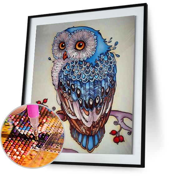 Forest Owl - Special Offer Freeplus 5DArtist