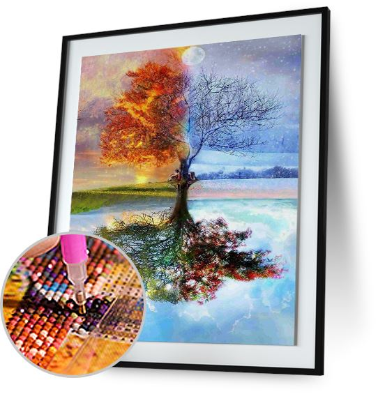 Four Seasons Tree - Special Offer Freeplus 5DArtist