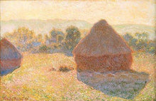 Haystacks on a Foggy Morning - by Claude Monet - Diamond Painting Kit