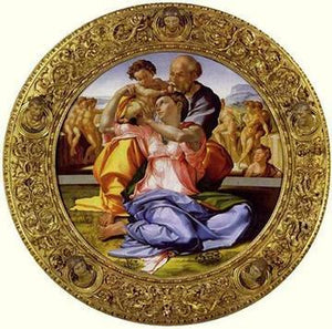 Holy Family - by Michelangelo - Paint By Numbers - Diamond Painting Kit