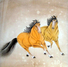 Horses Painting - Diamond Painting Kit