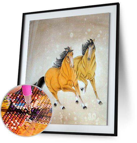 Horses Painting 5DArtist