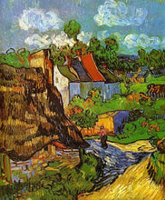 Houses in Auvers - by Vincent van Gogh - Diamond Painting Kit