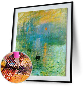 Impression, Sunrise - by Claude Monet 5DArtist