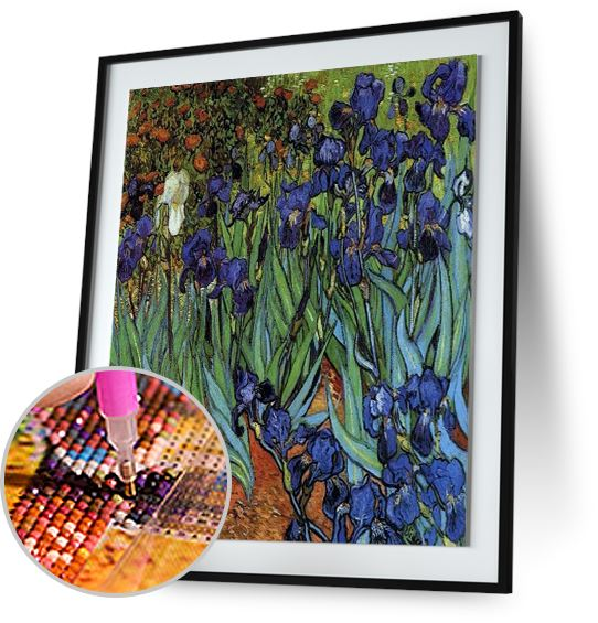 Irises - by Vincent van Gogh 5DArtist