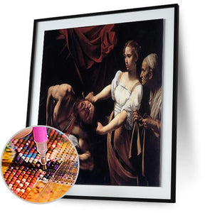 Judith Beheading Holofernes - by Caravaggio 5DArtist