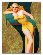 Lady in Yellow - Diamond Painting Kit