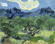 Landscape with Olive Trees - by Vincent van Gogh - Diamond Painting Kit