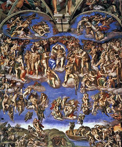 Last Judgement - by Michelangelo - Diamond Painting Kit