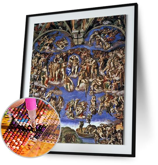Last Judgement - by Michelangelo 5DArtist