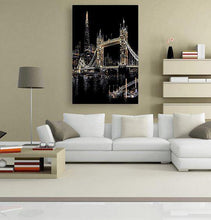 London Bridge - Scratch Art - Special Offer 5DArtist