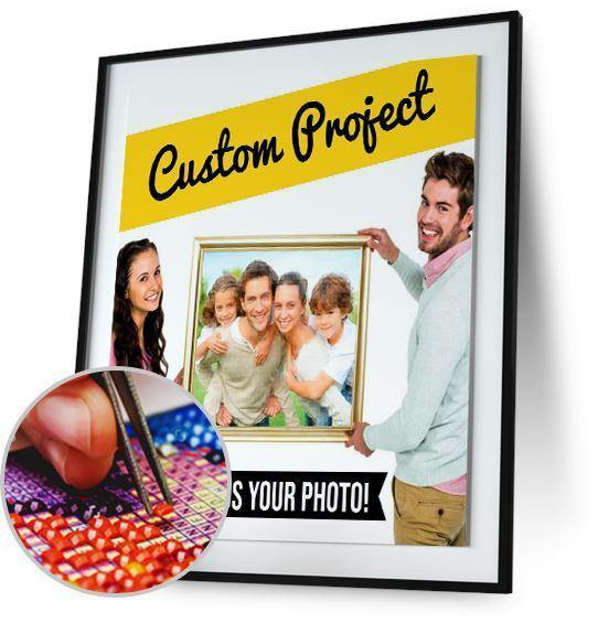 Make Your Own Picture - Custom Order New Offer Freeplus 5DArtist