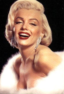 Marilyn Monroe: Blonde - Diamond Painting Kit