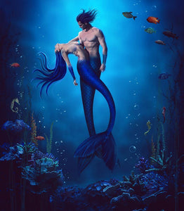 Mermaid - by Wesley Souza - Diamond Painting Kit