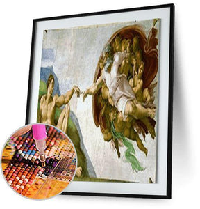 Michelangelo Creation of Adam - Best Freeplus 5DArtist