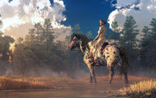Morning Rider - by Daniel Eskridge - Diamond Painting Kit