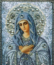 Mother Mary in Blue - Diamond Painting Kit