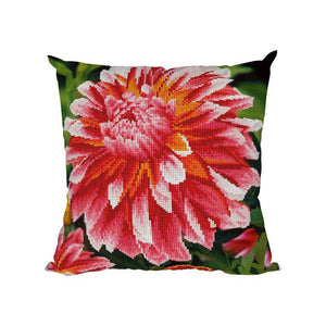 Peony - Diamond Painting Cushion Cover - Diamond Painting Kit