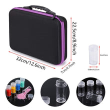 Premium Fabric Carrying Case with 60 Storage Bottles - Diamond Painting Kit
