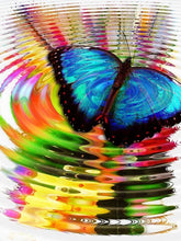 Relaxing Butterfly - Diamond Painting Kit