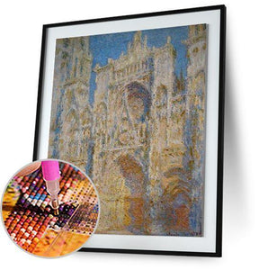 Rouen Cathedral - by Claude Monet 5DArtist
