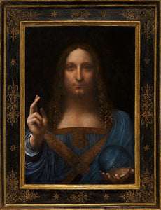Salvator Mundi - by Leonardo da Vinci - Diamond Painting Kit