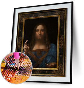 Salvator Mundi - by Leonardo da Vinci 5DArtist