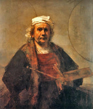 Self-Portrait with Two Circles - by Rembrandt - Diamond Painting Kit