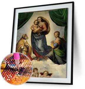 Sistine Madonna - by Raphael 5DArtist
