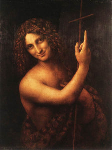 St John the Baptist - by Leonardo da Vinci - Diamond Painting Kit