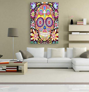 Sugar Candy Skull - Best Freeplus 5DArtist